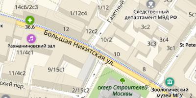 Б. Никитсская улица