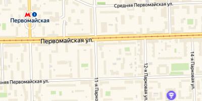 Первомайская ул.