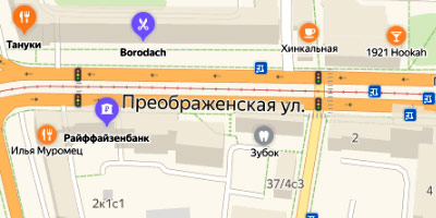 Преображенская ул.